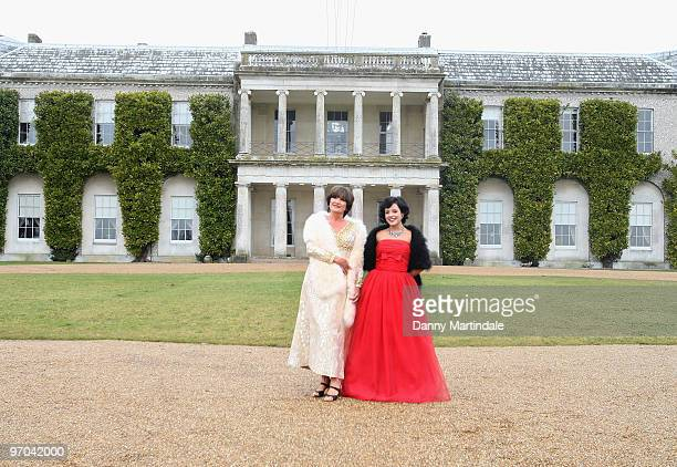 Sandie Shaw and Lily Allen attend photocall to launch Vintage At Goodwood upcoming 3 day festival to celebrate the fashion and music of past decades...