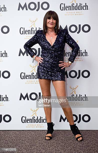 Sandie Shaw attends the Glenfiddich Mojo Honours List 2011 at The Brewery on July 21 2011 in London England
