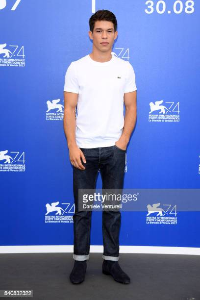 Sandor Funtek attends the 'Nico 1988' photocall during the 74th Venice Film Festival on August 30 2017 in Venice Italy