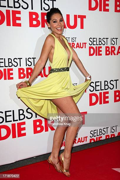 Sandra Ahrabian at the Premiere Of Germany movie 'Even If The Bride' In Mathäser movie palace in Munich