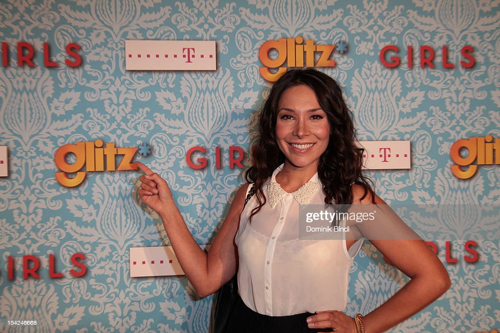 Sandra Ahrabian attends 'Girls' preview event of TV channel glitz* at Hotel Bayerischer Hof on October 16, 2012 in Munich, Germany. The series premieres on October 17, 2012 (every Wednesday at 9:10 pm on glitz*).