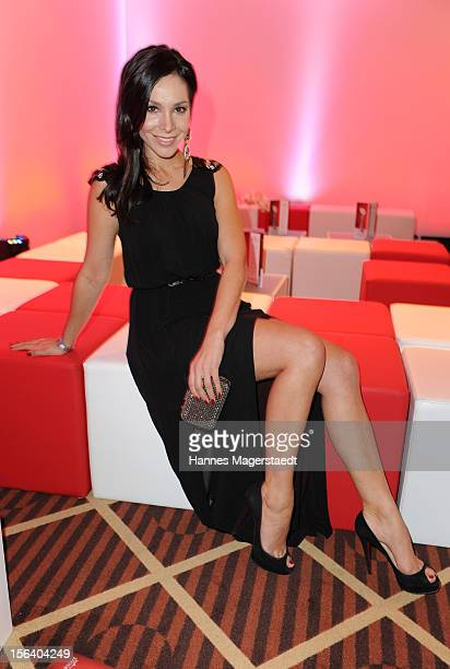 Sandra Ahrabian attends the Video Entertainment Award 2012 at the Westin Grand Hotel on November 14 2012 in Munich Germany