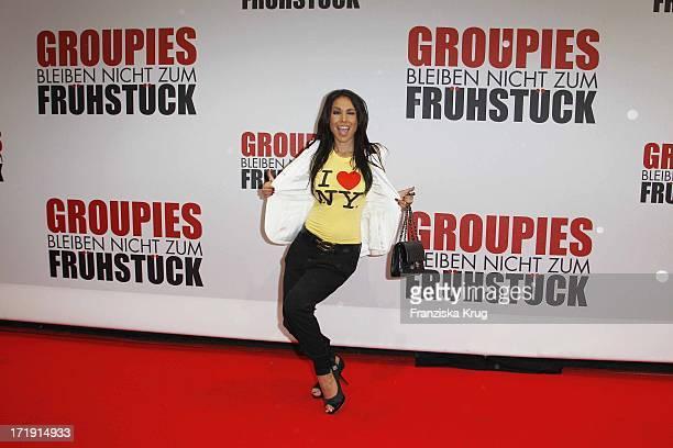 Sandra Ahrabian Bei Der Deutschlandpremiere Des Kinofilms 'Groupies Bleiben Nicht Zu Frühstück' Im Gloria Palast Am Stachus In München