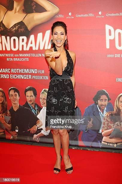 Sandra Ahrabian Bei Der Premiere Zu 'Pornorama' Am 081007 In München