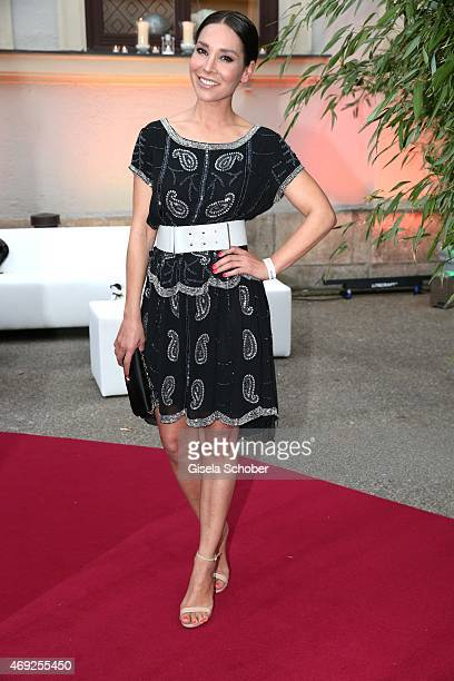 Sandra Ahrabian during the German premiere for Amazon's original drama series 'Transparent' at Kuenstlerhaus am Lenbachplatz on April 10 2015 in...