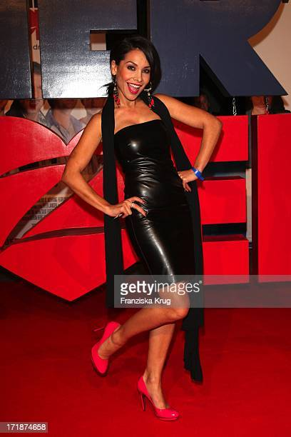 Sandra Ahrabian In The Germany premiere of the movie 'Men in the City' in Cinemax on Potsdamer Platz in Berlin