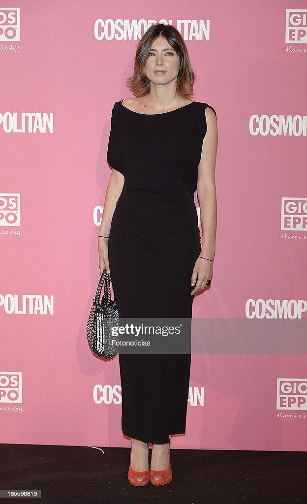 Sandra Barneda attends Cosmopolitan Fun Fearless Female Awards 2013 at the Ritz Hotel on October 22, 2013 in Madrid, Spain.