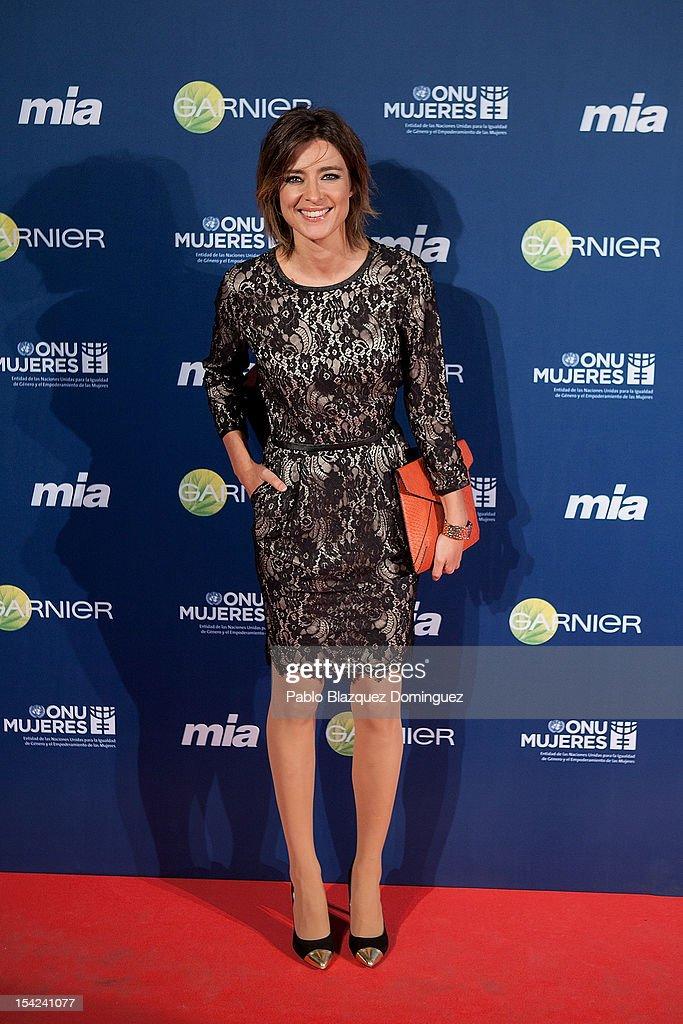 Sandra Barneda attends 'Cuida De Ti' 2012 Awards at Casa de America on October 16, 2012 in Madrid, Spain.