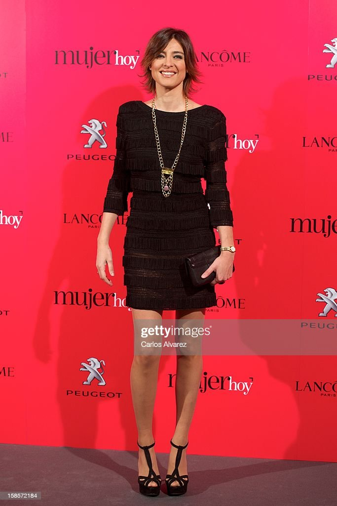 Sandra Barneda attends Mujer Hoy awards 2012 at ABC Museum on December 19, 2012 in Madrid, Spain.