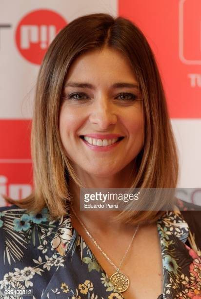Sandra Barneda attends the 'Smart PK by Pikolin' photocall at La Casa del Lector on June 21 2017 in Madrid Spain