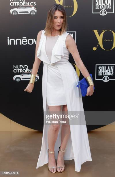 Sandra Barneda attends the 'Yo Dona' International Awards at the Palacio de los Duques de Pastrana on June 19 2017 in Madrid Spain