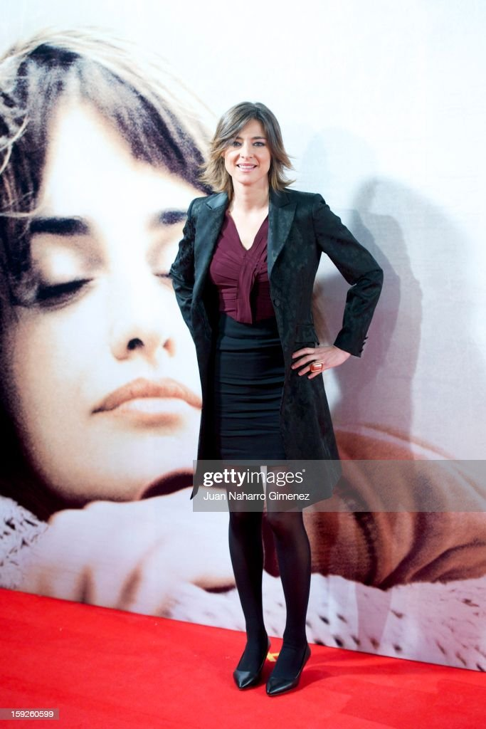 Sandra Barneda attends 'Venuto Al Mondo' (Volver A Nacer) premiere at Capitol cinema on January 10, 2013 in Madrid, Spain.
