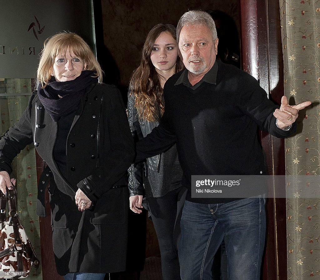 Sandra Beckham and DavidBeckham Sr sighting on February 8, 2013 in London, England.