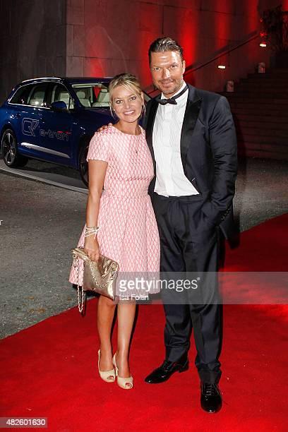 Sandra Bernadotte and Hardy Krueger Jr attend the Audi Night 2015 on July 31 2015 in Salzburg Austria