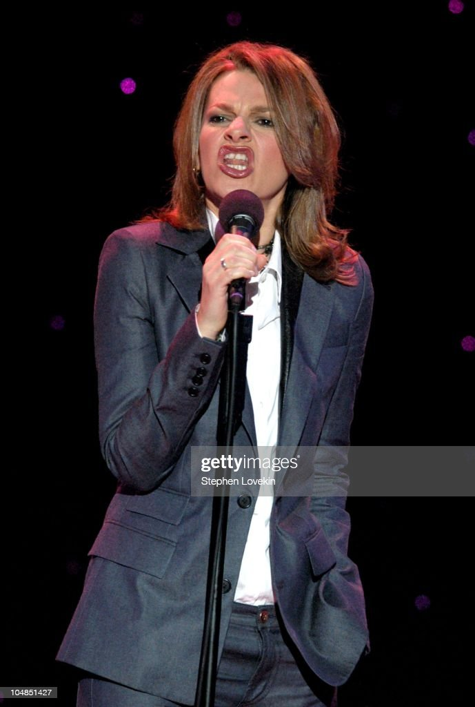 Sandra Bernhard during Comedy Tonight - A Night of Comedy to Benefit the 92nd Street Y at The 92nd Street Y in New York City, NY, United States.