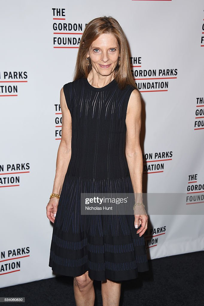 Sandra Brandt attends the 2016 Gordon Parks Foundation awards dinner at Cipriani 42nd Street on May 24, 2016 in New York City.