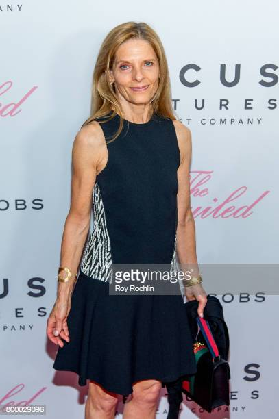 Sandra Brant attends 'The Beguiled' New York premiere at The Metrograph on June 22 2017 in New York City