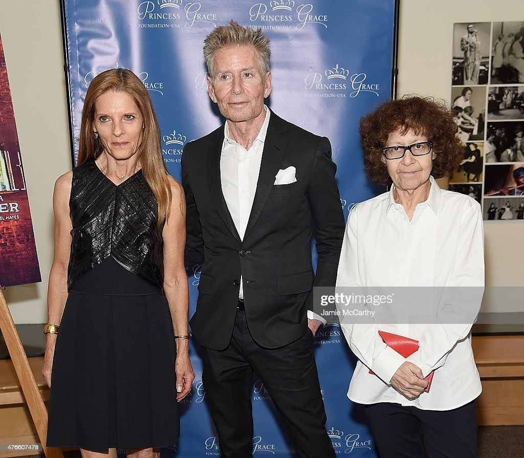 Sandra Brant Calvin Klein and Ingrid Sischy attend Princess Grace FoundationUSA NY Special Summer 2015 Screening of REAR WINDOW at The Academy...