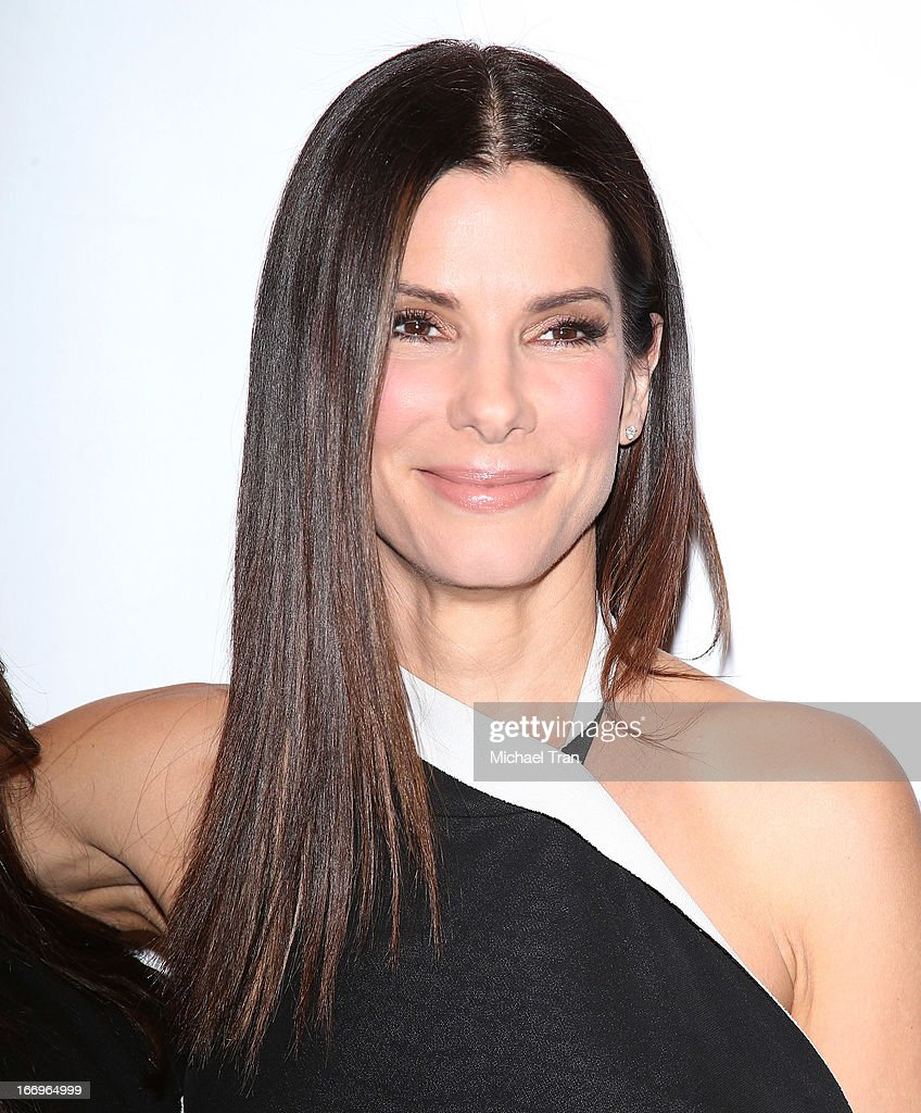 <a gi-track='captionPersonalityLinkClicked' href=/galleries/search?phrase=Sandra+Bullock&family=editorial&specificpeople=202248 ng-click='$event.stopPropagation()'>Sandra Bullock</a> arrives at a Twentieth Century Fox presentation to promote the upcoming film 'The Heat' at Caesars Palace during CinemaCon, the official convention of the National Association of Theatre Owners on April 18, 2013 in Las Vegas, Nevada.