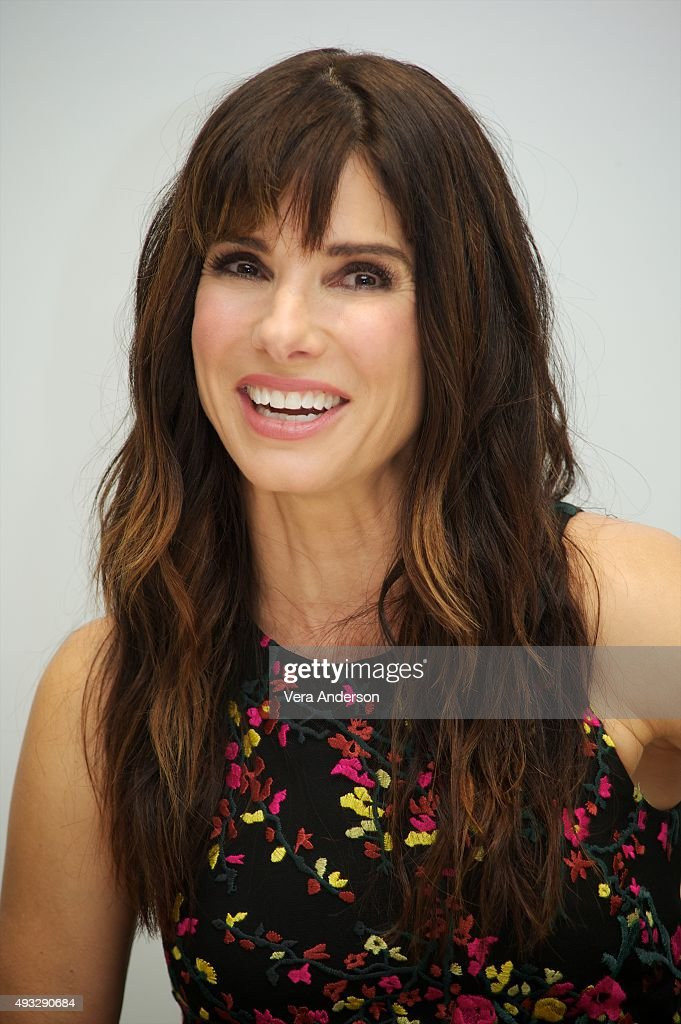 <a gi-track='captionPersonalityLinkClicked' href=/galleries/search?phrase=Sandra+Bullock&family=editorial&specificpeople=202248 ng-click='$event.stopPropagation()'>Sandra Bullock</a> at the 'Our Brand Is Crisis' Press Conference at the Four Seasons Hotel on October 17, 2015 in Beverly Hills, California.