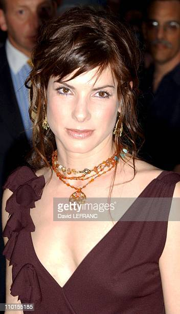 Sandra Bullock at the premiere of 'Murder by Numbers' at the Ziegfeld Theatre in New York United States on April 16 2002