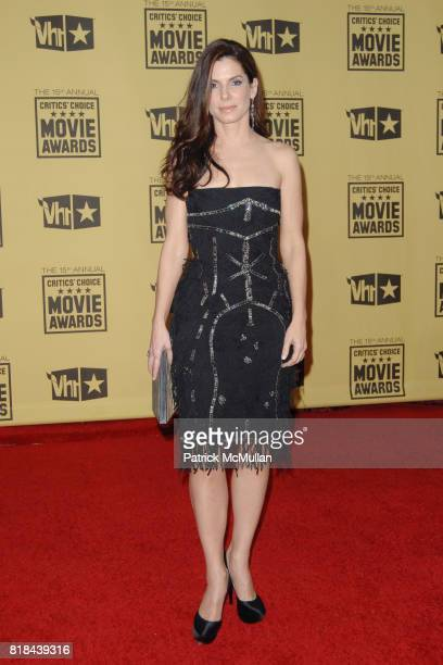 Sandra Bullock attends 2010 Critics Choice Awards at The Palladium on January 15 2010 in Hollywood California