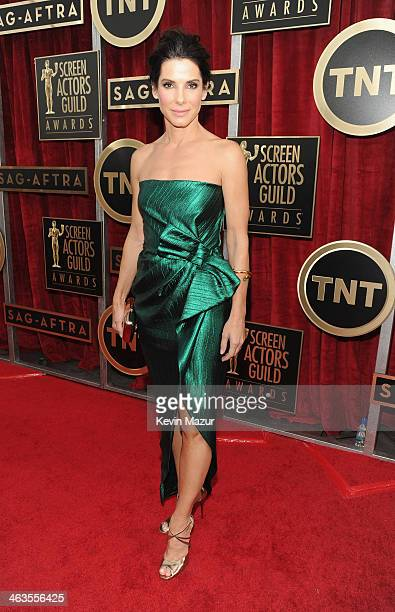 Sandra Bullock attends 20th Annual Screen Actors Guild Awards at The Shrine Auditorium on January 18 2014 in Los Angeles California