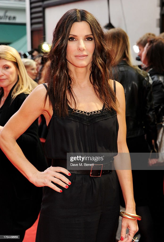 <a gi-track='captionPersonalityLinkClicked' href=/galleries/search?phrase=Sandra+Bullock&family=editorial&specificpeople=202248 ng-click='$event.stopPropagation()'>Sandra Bullock</a> attends a gala screening of 'The Heat' at The Curzon Mayfair on June 13, 2013 in London, England.