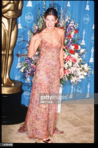 Sandra Bullock attends the 69th Annual Academy Awards ceremony March 24 1997 in Los Angeles CA