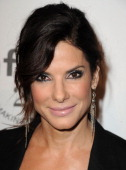Sandra Bullock attends the amfAR Inspiration Gala at Chateau Marmont on October 27 2011 in Los Angeles California