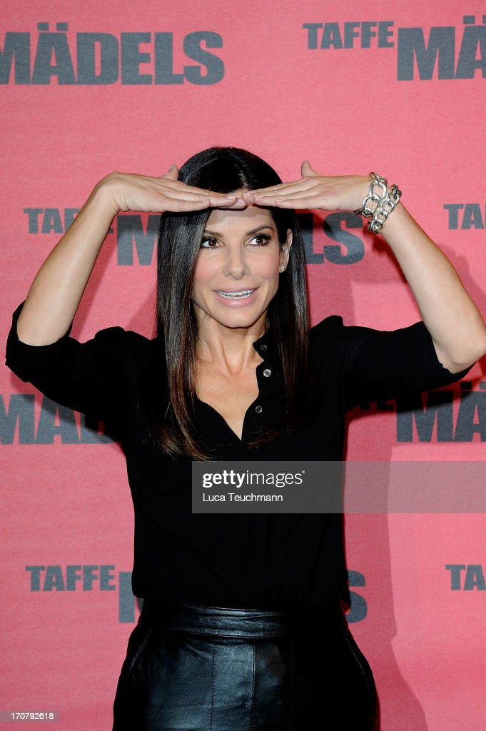 <a gi-track='captionPersonalityLinkClicked' href=/galleries/search?phrase=Sandra+Bullock&family=editorial&specificpeople=202248 ng-click='$event.stopPropagation()'>Sandra Bullock</a> attends the photocall 'Taffe Maedels' at Hotel De Rome on June 18, 2013 in Berlin, Germany.