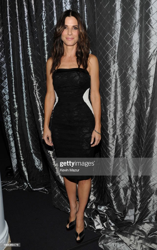 <a gi-track='captionPersonalityLinkClicked' href=/galleries/search?phrase=Sandra+Bullock&family=editorial&specificpeople=202248 ng-click='$event.stopPropagation()'>Sandra Bullock</a> attends the USC Shoah Foundation Institute 2013 Ambassadors for Humanity gala at the American Museum of Natural History on October 3, 2013 in New York, New York.