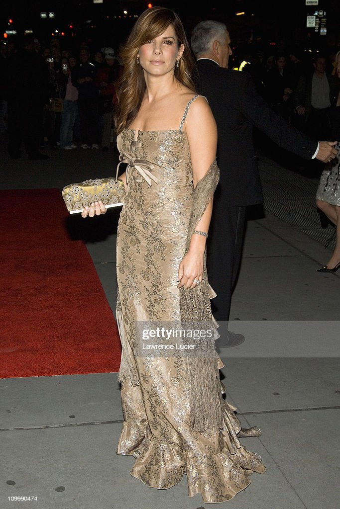 Sandra Bullock during Fashion Group International Presents the 22nd Annual Night of Stars Honoring The Romantics at Ciprianis 42nd Street in New York...