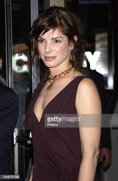 Sandra Bullock during New York Premiere of 'Murder by Numbers' at Ziegfeld Theatre in New York City New York United States