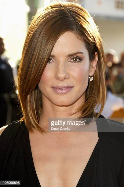 Sandra Bullock during 'The Lake House' Premiere Arrivals at Cineramadome in Los Angeles California United States