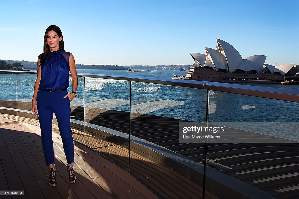 Sandra Bullock poses during the 'The Heat' photo call on July 2, 2013 in Sydney, Australia.