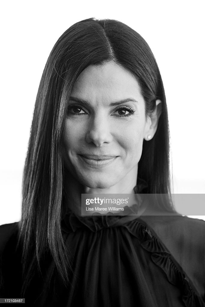 <a gi-track='captionPersonalityLinkClicked' href=/galleries/search?phrase=Sandra+Bullock&family=editorial&specificpeople=202248 ng-click='$event.stopPropagation()'>Sandra Bullock</a> poses during the 'The Heat' photo call on July 2, 2013 in Sydney, Australia.