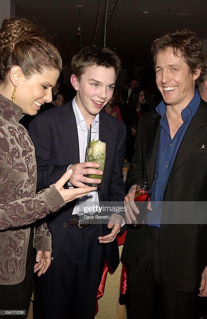 Sandra Bullock,nicholas Hoult & Hugh Grant, 'Two Weeks Notice' Movie Premiere At The, Warner West End London