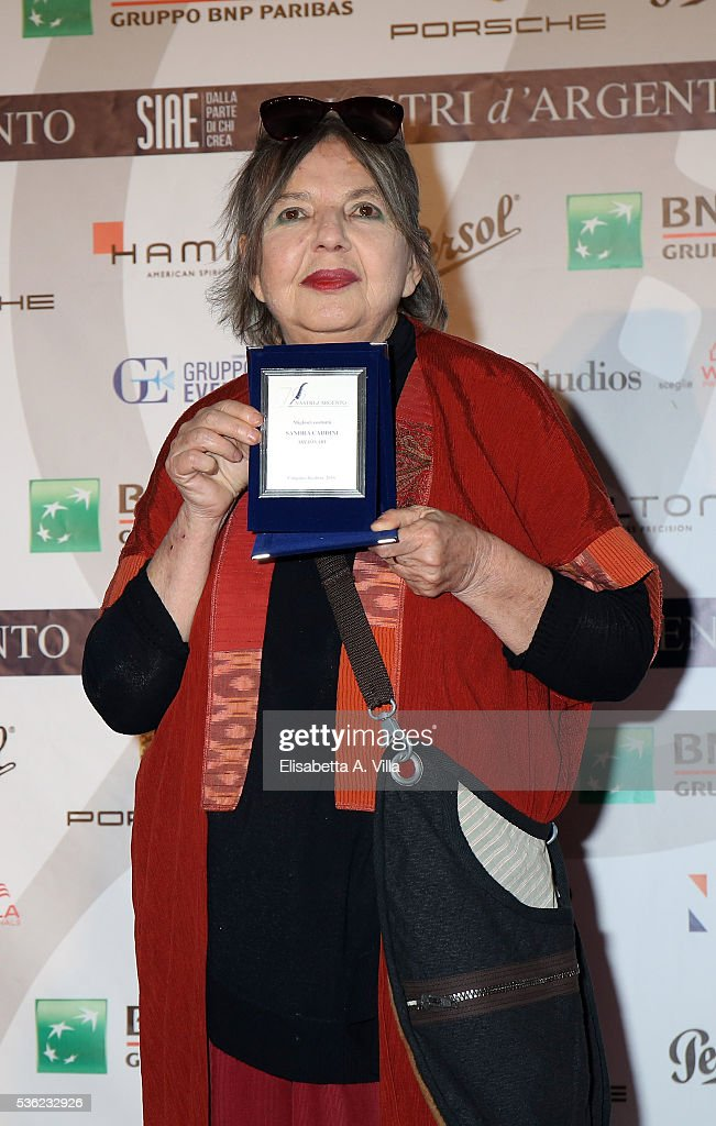 Sandra Cardini attends Nastri D'Argento 2016 Award Nominations at Maxxi on May 31, 2016 in Rome, Italy.