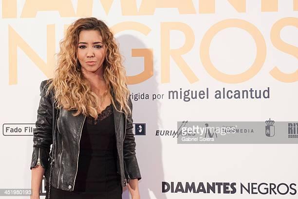 Sandra Cervera attends 'Diamantes Negros' Madrid Premiere at Palafox cinema on November 25 2013 in Madrid Spain