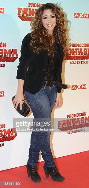 Sandra Cervera attends 'Promocion Fantasma' premiere at Capitol Cinema on February 2 2012 in Madrid Spain