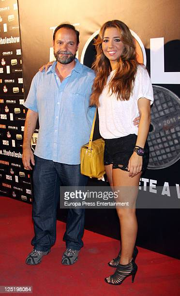 Sandra Cervera attends 'The Hole' premiere at Haagen Dasz Theatre on September 15 2011 in Madrid Spain