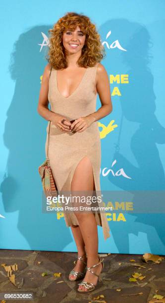 Sandra Cervera attends the 'Senor dame paciencia' premiere at Fortuny Palace on June 15 2017 in Madrid Spain