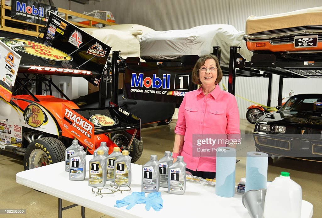 Sandra Clark, from LaGrange, Ga., won the chance to meet NASCAR driver Tony Stewart and tour his personal classic car collection through the Under the Hood with Tony and Mobil 1 sweepstakes.