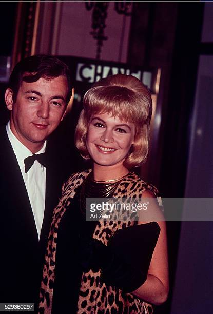 Sandra Dee with Bobby Darin before they were married circa 1980 New York
