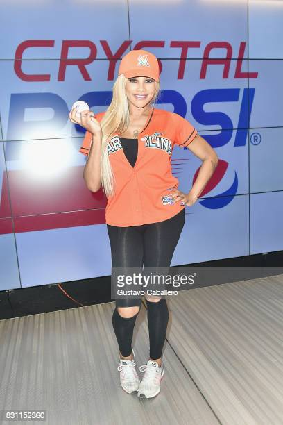 Sandra Denton of SaltNPepa attends The Crystal Pepsi Throwback Tour At Marlin's Park on August 13 2017 in Miami Florida
