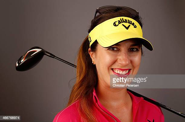 Sandra Gal of Germany poses for a portrait ahead of the LPGA Founders Cup at Wildfire Golf Club on March 18 2015 in Phoenix Arizona