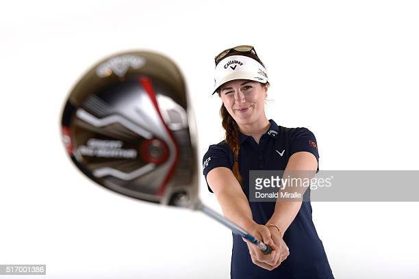 Sandra Gal of Germany poses for a portrait during the KIA Classic at the Park Hyatt Aviara Resort on March 22 2016 in Carlsbad California