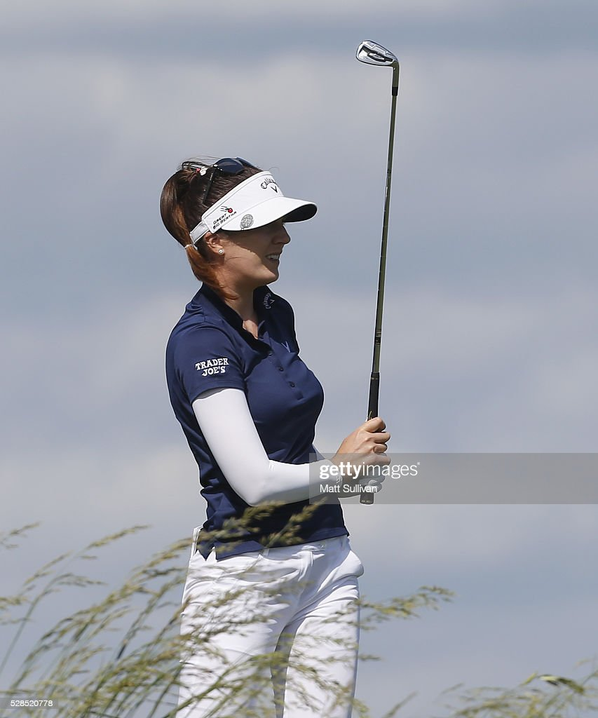<a gi-track='captionPersonalityLinkClicked' href=/galleries/search?phrase=Sandra+Gal&family=editorial&specificpeople=2646550 ng-click='$event.stopPropagation()'>Sandra Gal</a> of Germany watches her tee shot on the second hole during the Yokohama Tire Classic on May 05, 2016 in Prattville, Alabama.