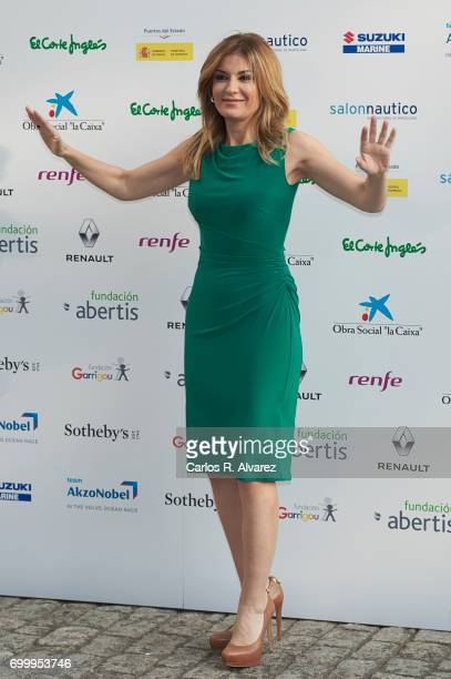 Sandra Golpe attends the 'Get Best Give Most' charity party at the French Embassy on June 22 2017 in Madrid Spain